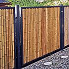 Anwendung Wetterschutz Bambus